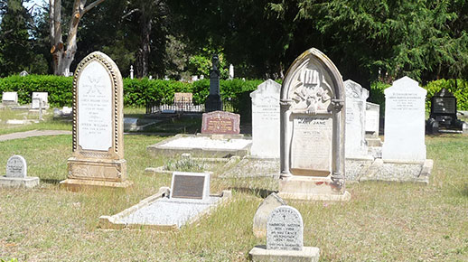 Act Pioneers Cemetery