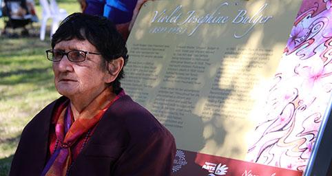 Ngunnawal elder Agnes Shea
