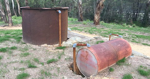 Eucalyptus distillation vessels