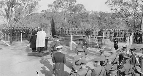 General Bridges' interment